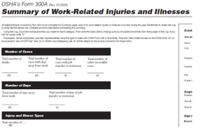 osha recordkeeping & injury reporting faqs - LSCI